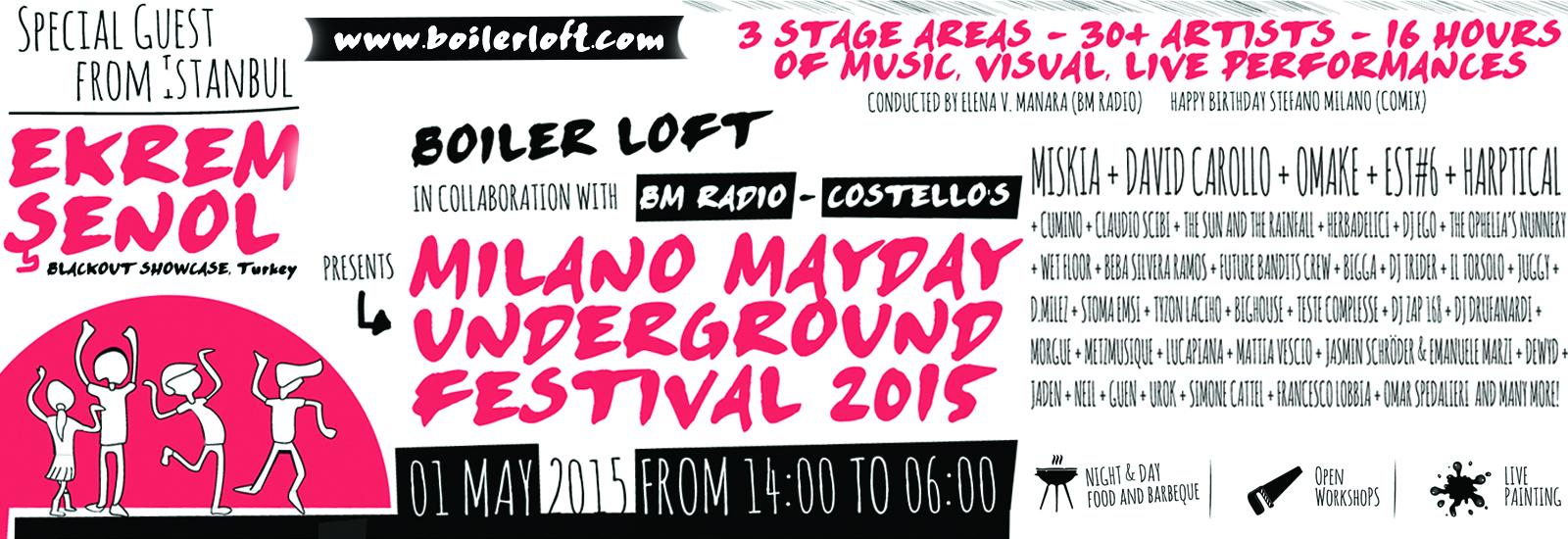 Milano Mayday Underground Festival